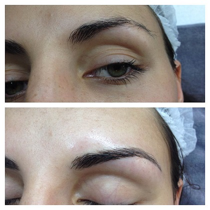 3d eyebrow tattoo in phuket vayo massage beauty salon